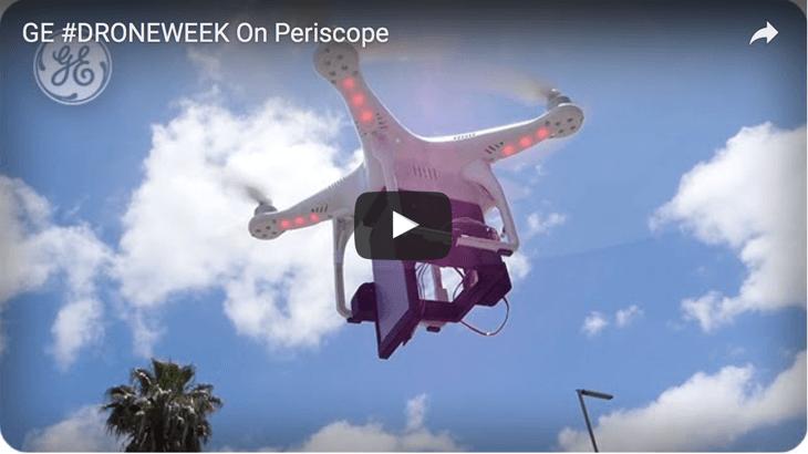 GE droneweek live streaming
