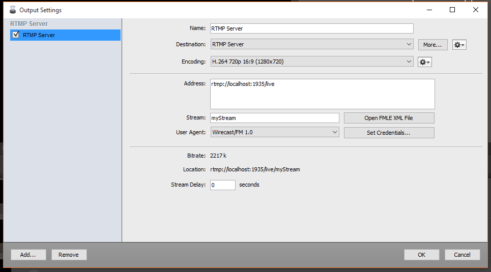 Wirecast Tutorial for Broadcasting RTMP