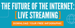 [INFOGRAPHIC] The Future of the Internet Is Live Streaming