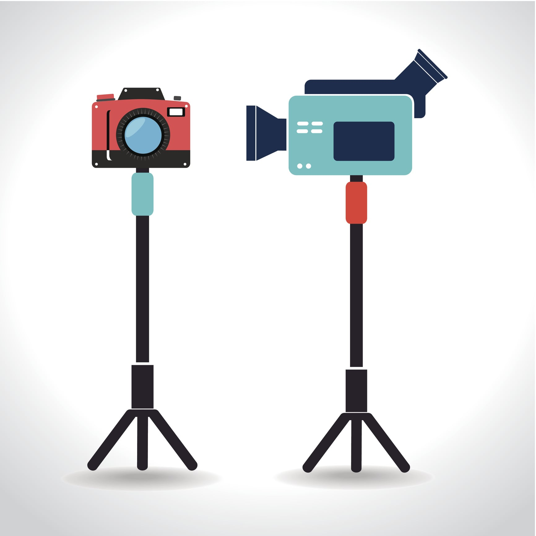 Live Streaming Equipment Which Tripod to Use for Online Video - photo vs video