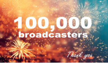 DaCast has reached 100,000 broadcasters