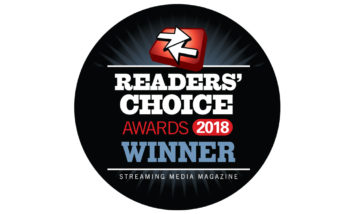 DaCast is a Winner of the 2018 Streaming Media Readers' Choice Awards